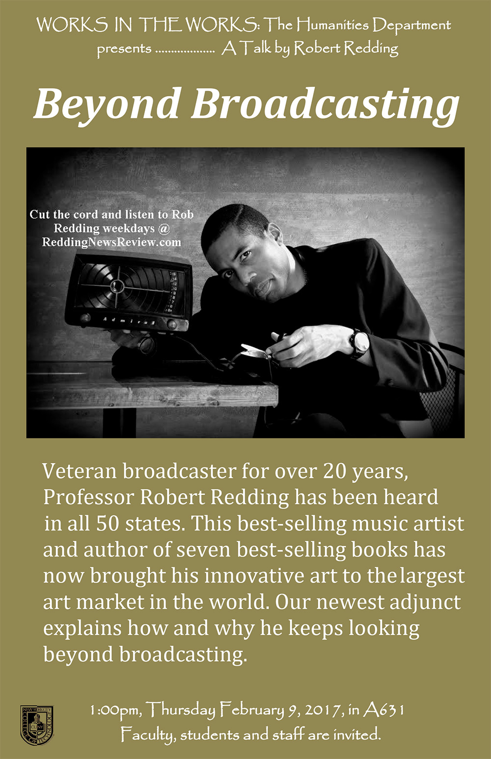 Works in the Works: Beyond Broadcasting presented by Professor Robert Redding 1