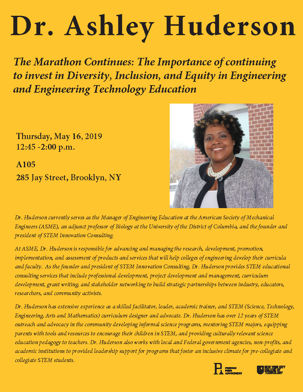 The Marathon Continues: The Importance of continuing to invest in Diversity, Inclusion, and Equity in Engineering and Engineering Technology Education 1