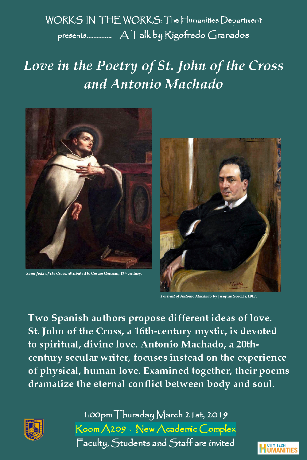 Love in the Poetry of St. John of the Cross and Antonio Machado 4