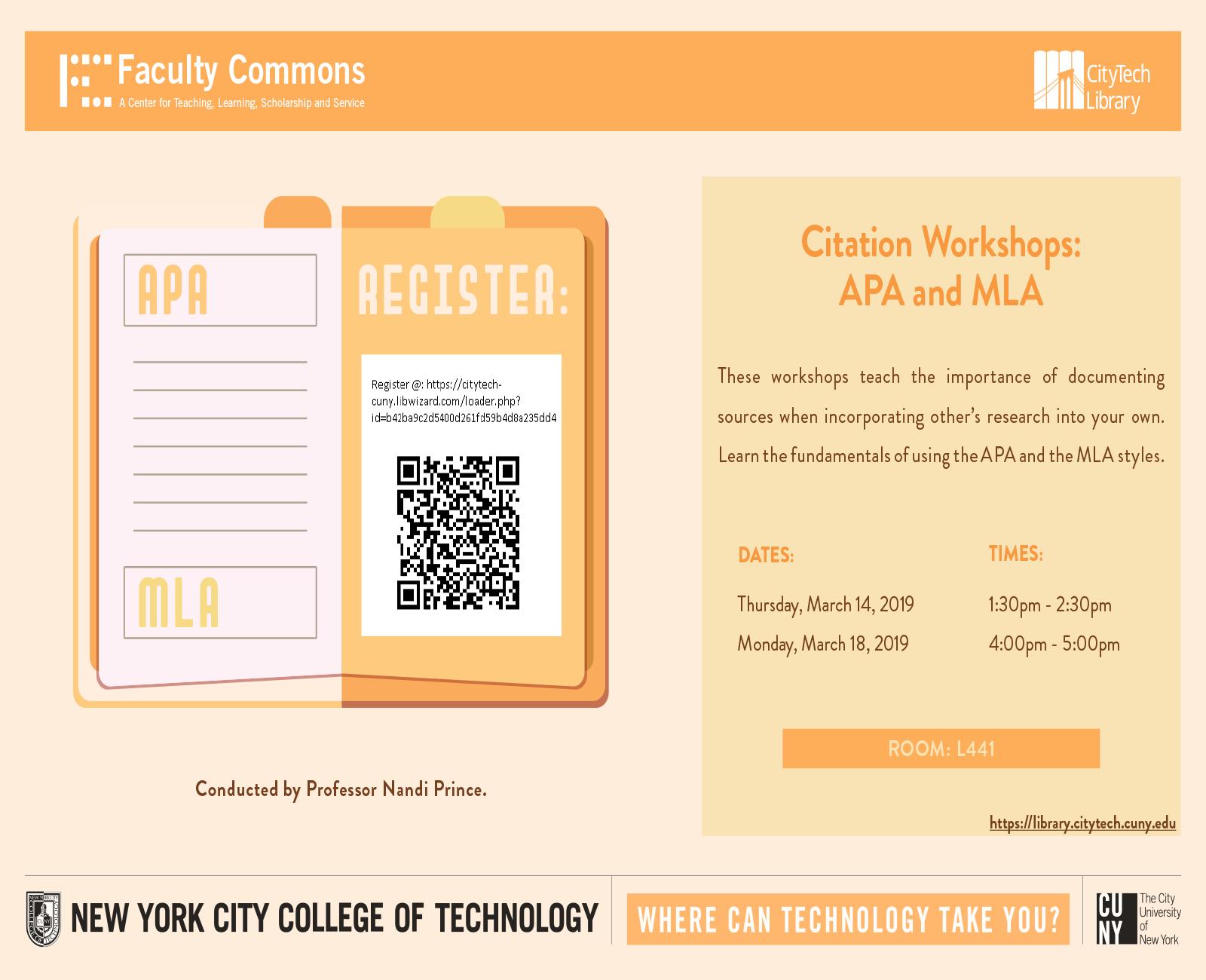 Citation Workshops 1