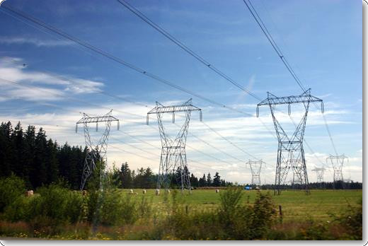 Pics For > High Voltage Power Lines Tower