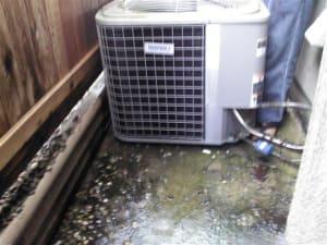 The heat pump condensing unit