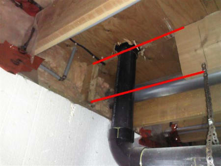 Cut Joist With Markups