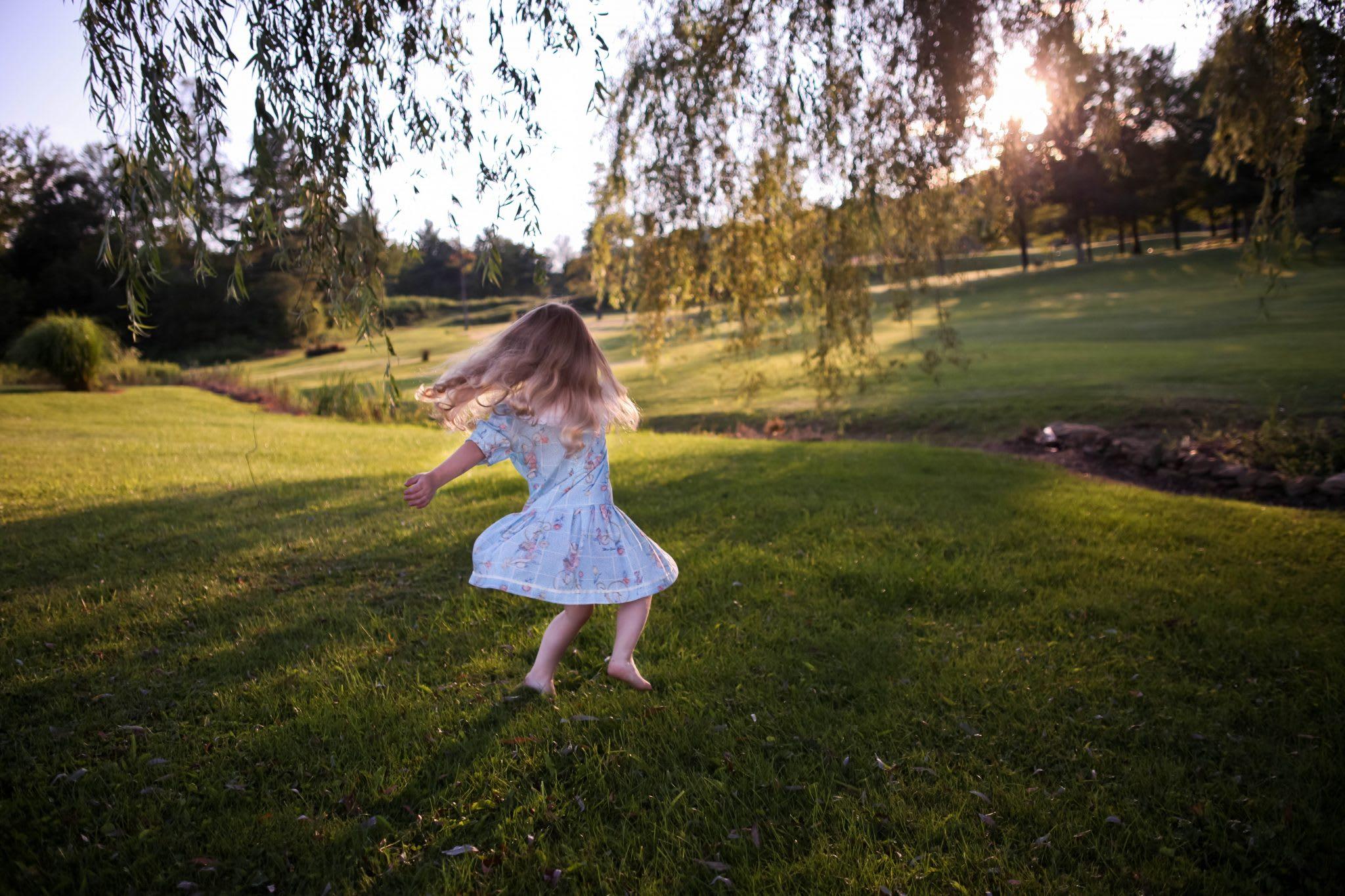 dance like a toddler