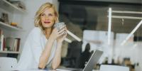 Woman in finance