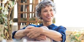 woman in retirement