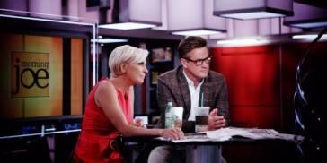 Mika Brzezinski and Joe Scarborough on MSNBC
