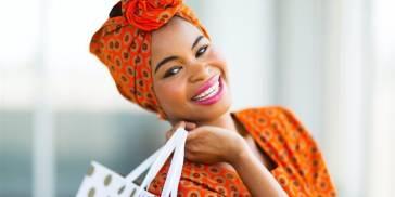 Stylish African woman
