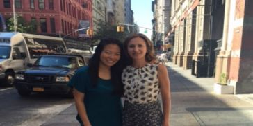 Georgene Huang and Romy Newman, Fairygodboss co-founders