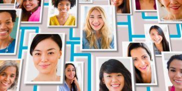 Photo of women's faces