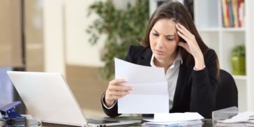 woman who's been laid off