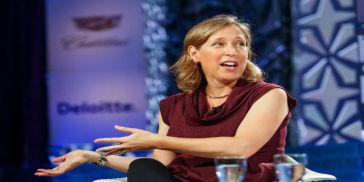 Susan Wojcicki, Chief Executive Officer of YouTube