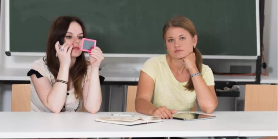 Girls at School
