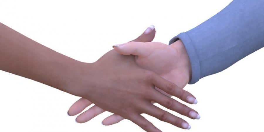 Handshake women
