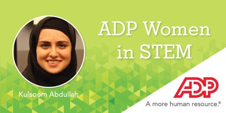 ADP ADP Women in STEM Profile: Kulsoom Abdullah