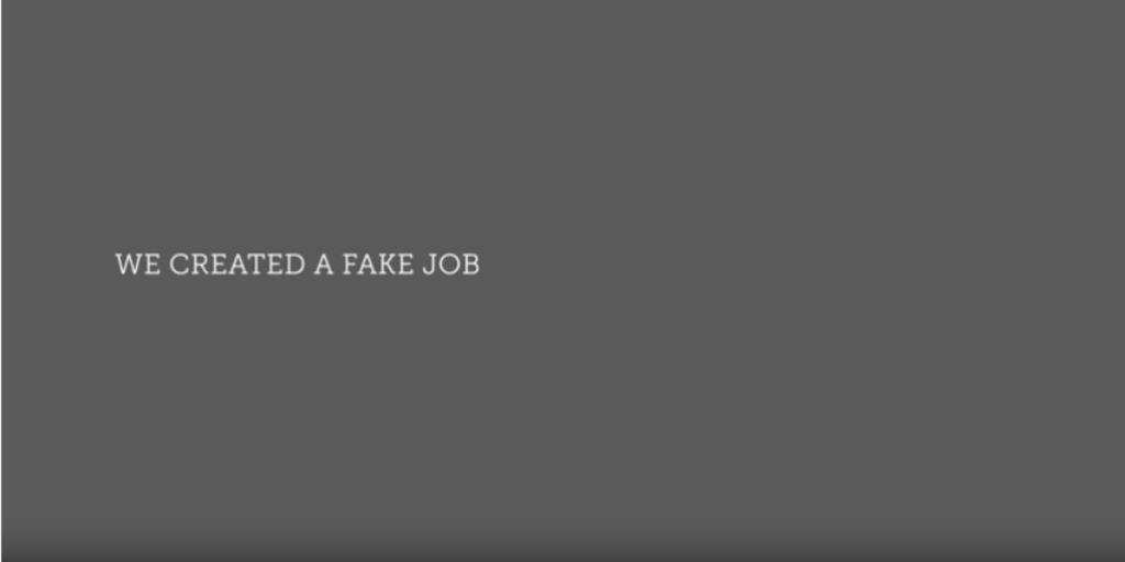 Interview for world's hardest job