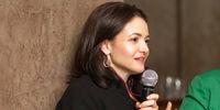 Sheryl Sandberg speaking
