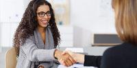 women meeting at work