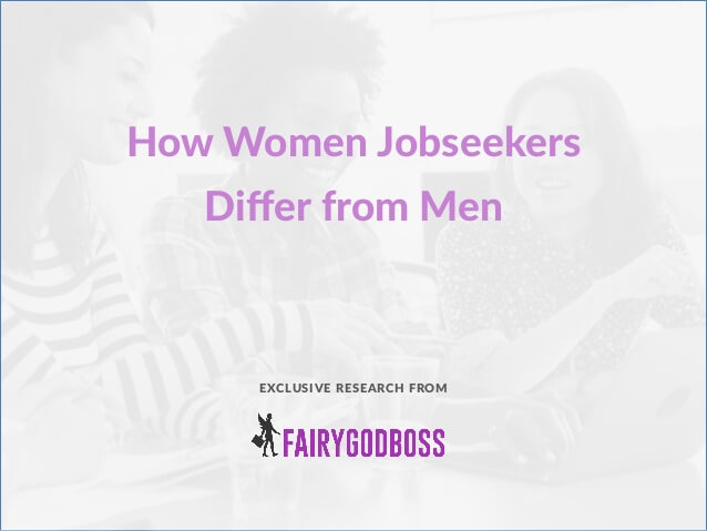 How Women Job Seekers Differ From Men