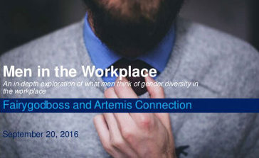 Men in the workplace