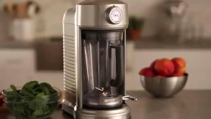 Review Of Kitchenaid Ksb5010sr Blender The Appliances