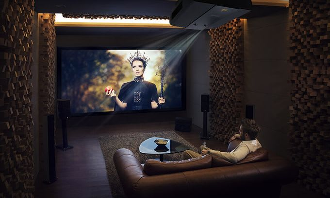 TOP list of the best 4K HDR projectors 2019