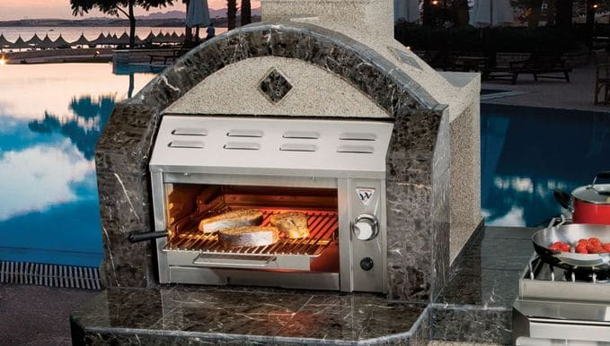 Features of the non-contact grills