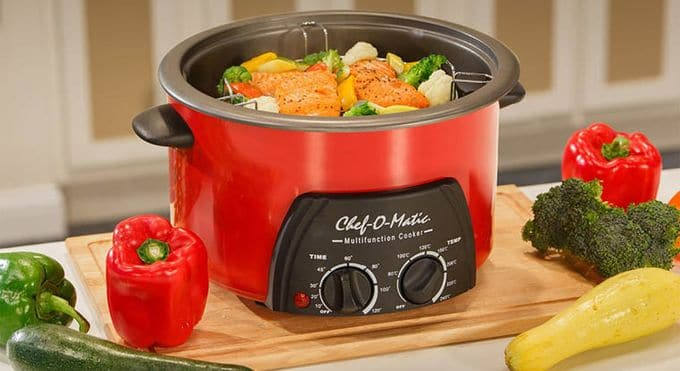 Features cooking in multicooker