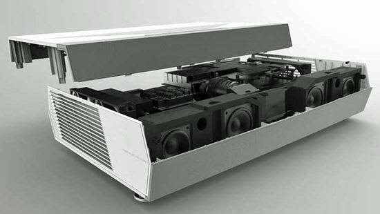 Optoma CinemaX P2 built-in soundbar