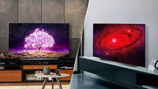 LG C1 vs CX design