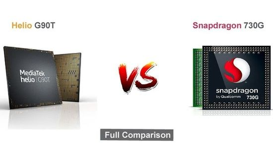 MediaTek Helio G90T vs Qualcomm Snapdragon 730G