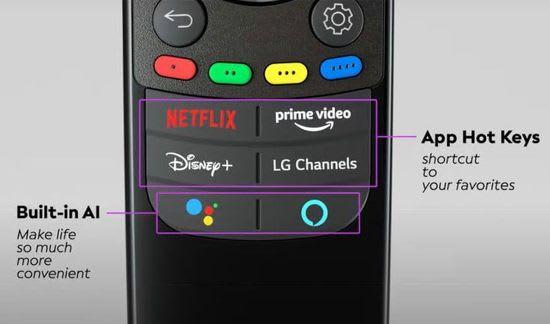 LG webOS 6.0 Magic Remote
