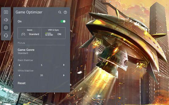 LG Game Optimiser