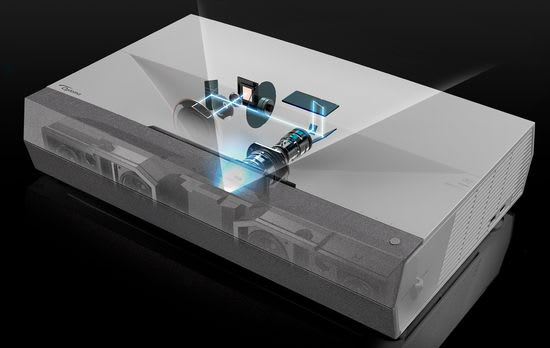 Optoma Cinemax P2 single-chip DLP technology