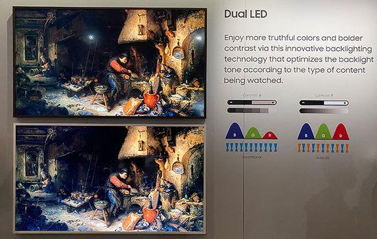 Samsung QLED dual LED