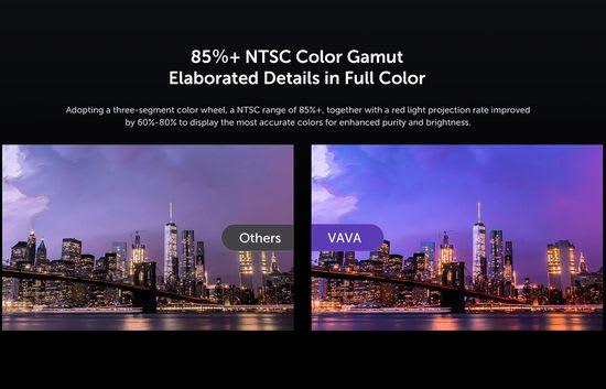 VAVA 4K colors