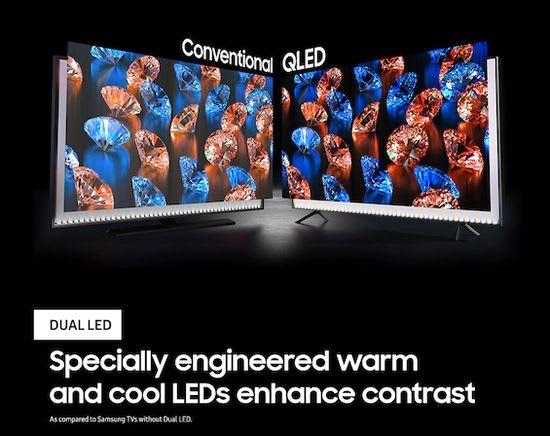 dual led backlight