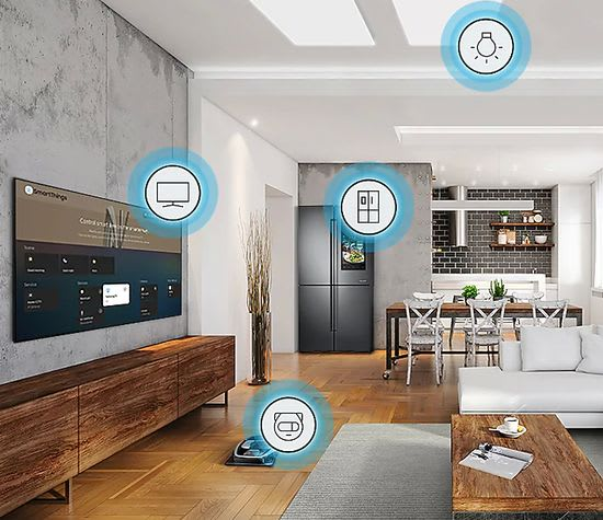 Samsung Q60T smart home