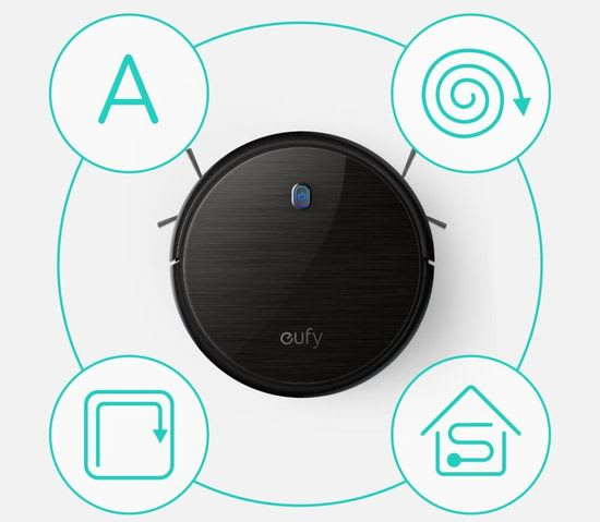 Eufy RoboVac 11S cleaning modes