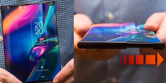 TCL rollable smartphone concept