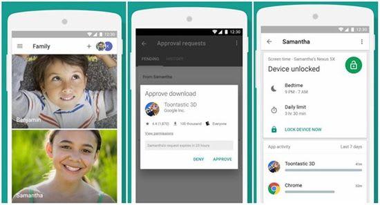 Google family link app