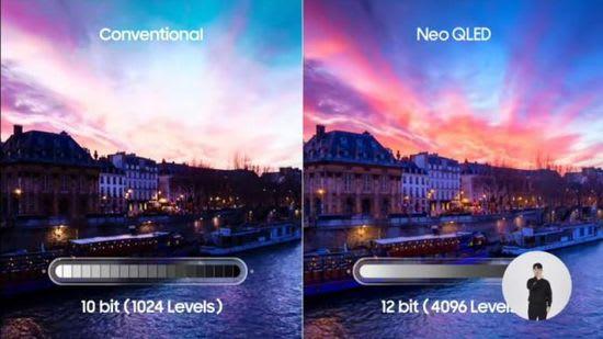 Samsung 12-bit Neo QLED TV