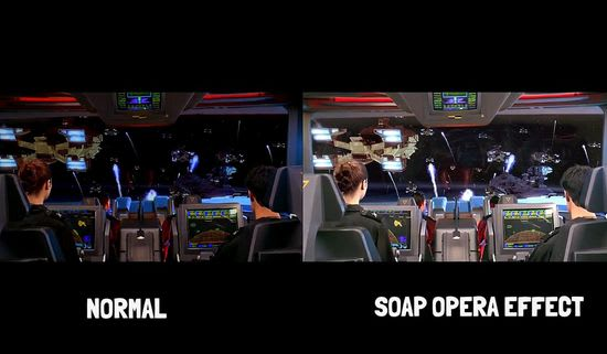Soap-opera effect