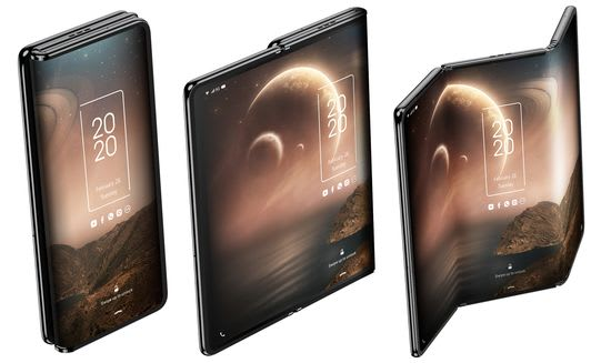 TCL trifold concept