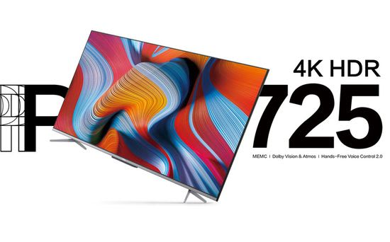 TCL P725 4K HDR TV