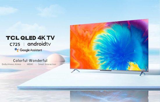 TCL QLED C725 4K TV