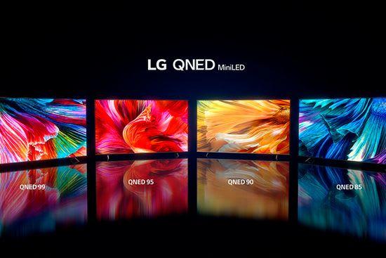 LG QNED MiniLED TVs 2021
