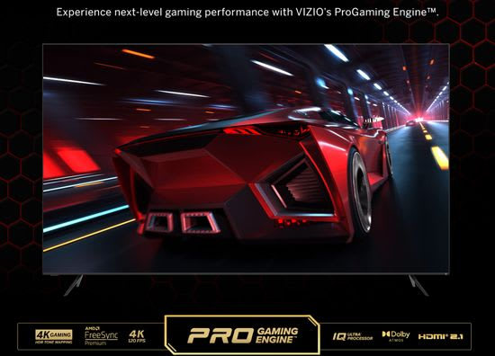 Vizio ProGaming Engine