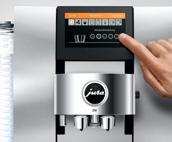 Jura Z10 grind selection