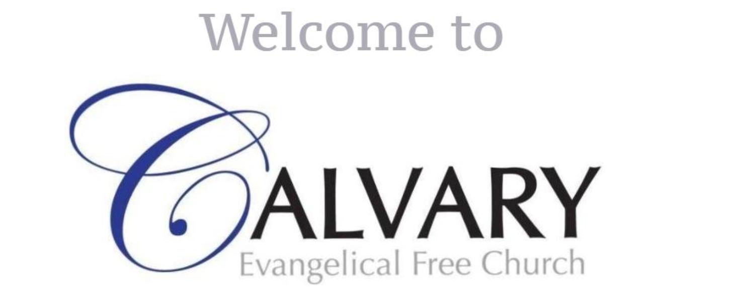 Calvary Evangelical Free Church Spring Grove